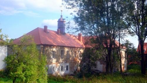 Pohled na zámek od severozápadu, září 2011