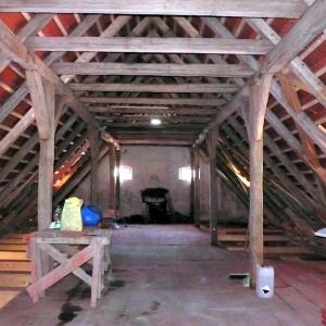 Rekonstruovaný historický krov, 2011
