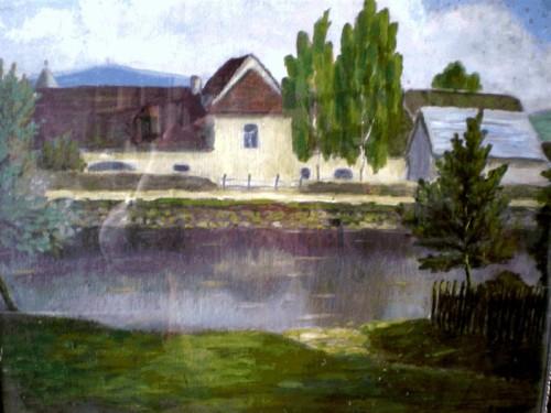 Pohled přes rybník Žiďák