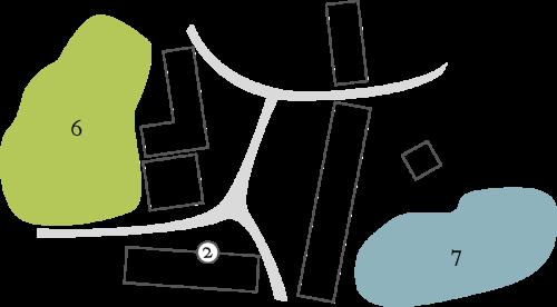 Plán zámku Třebešice